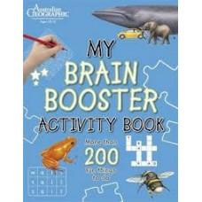 My Brain Booster Activity Book - Australian Geographic