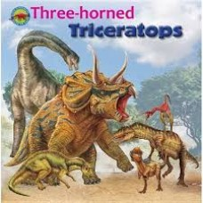 Three-horned Triceratops - When Dinosaurs Ruled the Earth