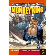 Monkey King - Enemies and a New Friend Vol 4 Adventures From China